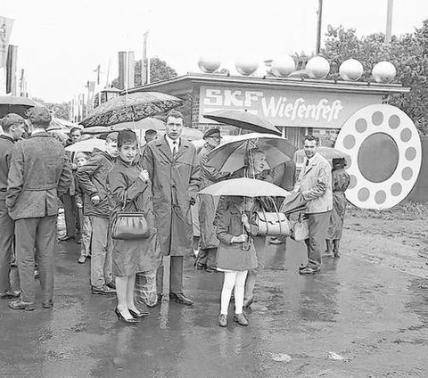 SKF-Wiesenfest ca. 1960