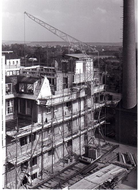 Labor SKF Werk 1 Wiederaufbau 1947 - Danke an Gerhard Ahles