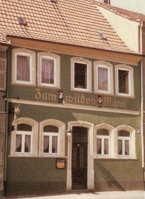 Gasthaus Wilder Mann Bauerngasse