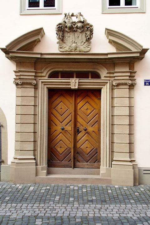 Metzgergasse - altes Fehrhaus Eingangstür