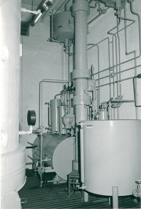 Benzolanlage mit Destillation