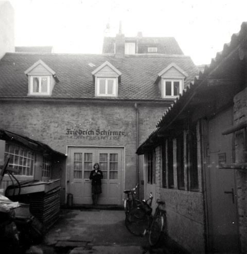 Hadergasse 11/13 in den 1950ern - Haus Schirmer