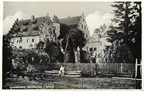 Das Schloss in der Vorkriegszeit