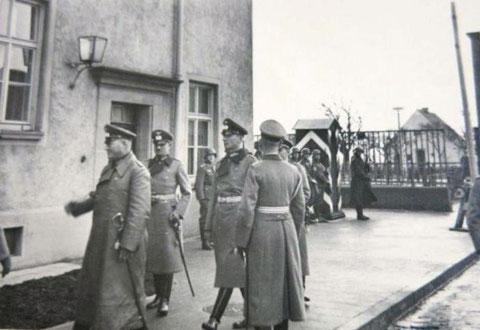 In den Schweinfurter Kasernen