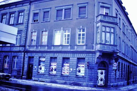 Ecke Brückenstraße/ Judengasse 19.02.1985 - Danke an Christel Feyh