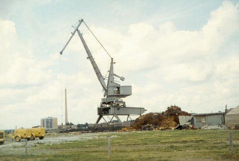 Juni 1966 - Hafenkran