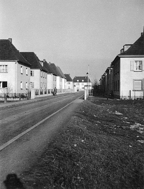 Die Bayernstraße (damals Ludendorffstraße) im Jahre 1940 - Danke an Holger Meyer