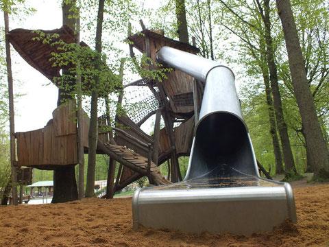 Im Schweinfurter Wildpark