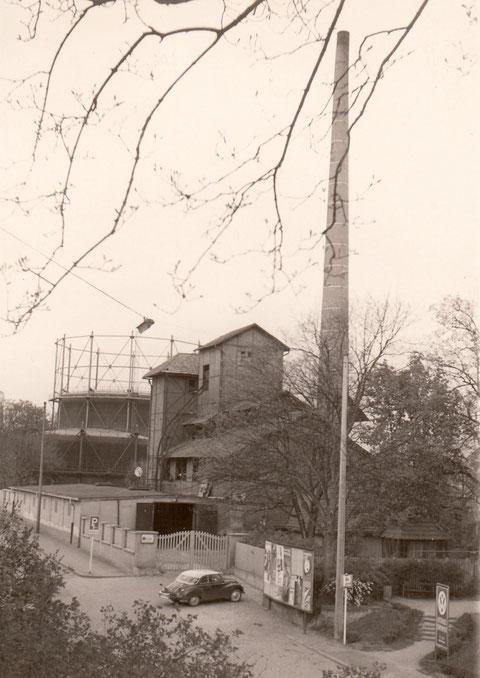 Gaswerk in den 1950ern - Danke an Hilde Müller