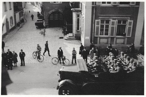 Kornmarkt 17 mit Blick in die Neue Gasse - Ende 1939 - Danke an Frau Christel Groschwitz