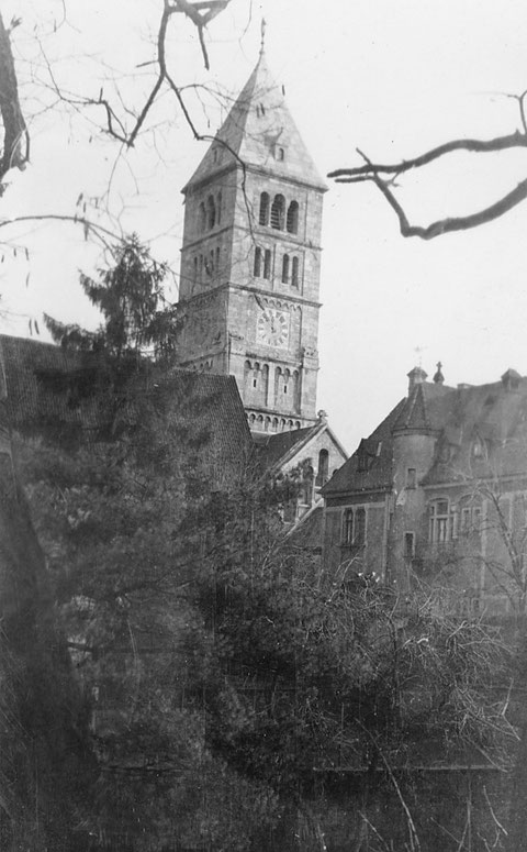 Hl.-Geist-Kirche 1930 - Danke an Holger Meyer
