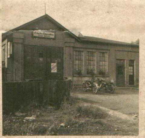 Fahrradbau Scheller (Schelba) - Sonnenstraße 17 - später umgezogen (1950er) in die Wilhelmstraße 24