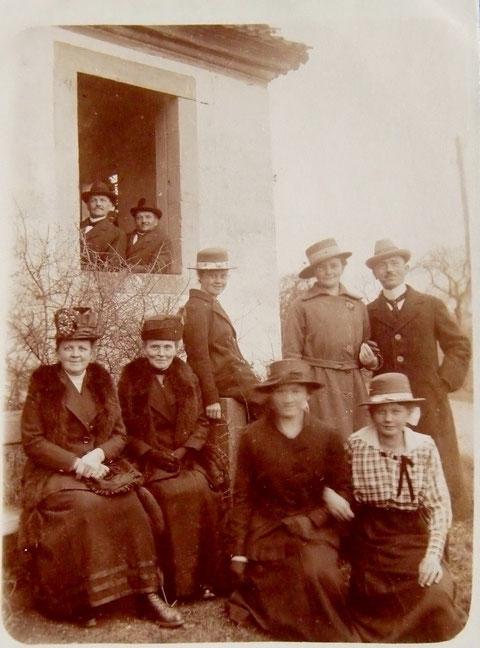Am Haardthäuschen am 20. April 1919