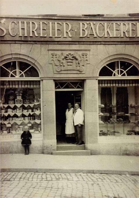 Georg und Maria Schreier 1928