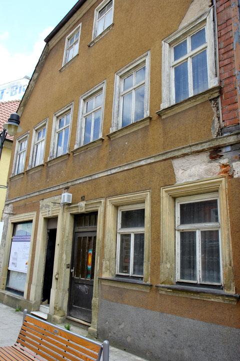 Rückertstraße 12 - Haus vor der Renovierung im Jahre 2013