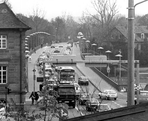 Die Maxbrücke 1997 - Foto: Lazlo Ruppert