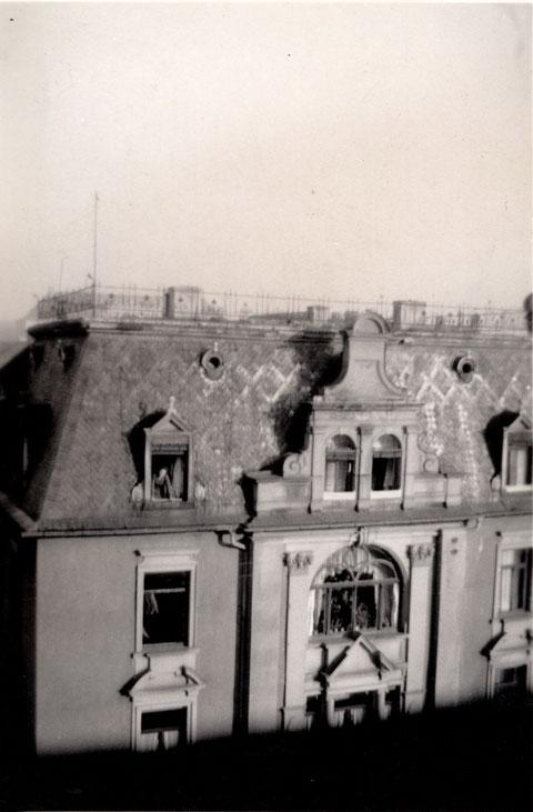 Luitpoldstraße 10, nach Angriff von 14.10.1943
