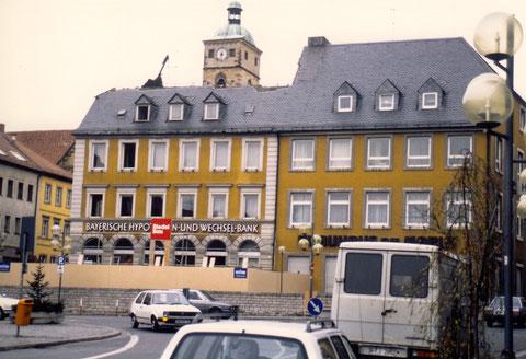 Nordseite Marktplatz vor Umbau