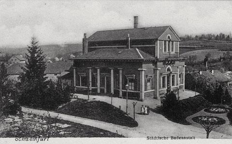 Städt. Badeanstalt ca. 1906