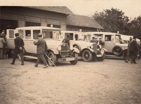 Einsatzwagen der ASB 1929 in Schweinfurt - Danke an Klaus Hoffmann