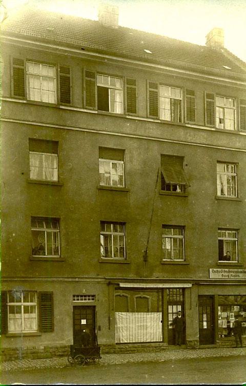 Ca. 1920 - Luitpoldstraße 22, Georg Arneth, Buchhändler  -  später (Adressbuch 1936) Jägersbrunnen 1
