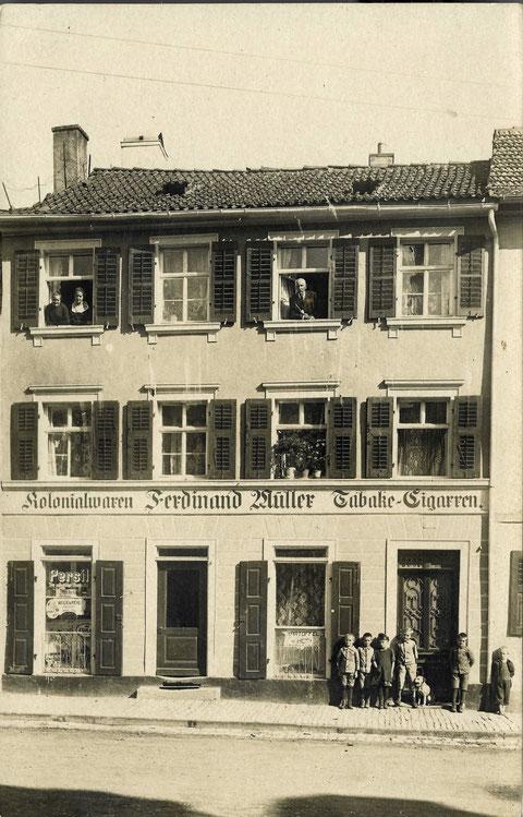 Wolfsgasse 14, 1922/23, Danke an Familie Karg