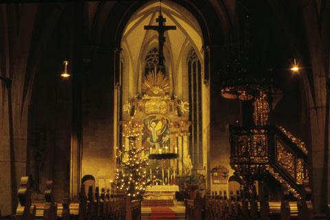 Dezember 1965 in der Johanniskirche