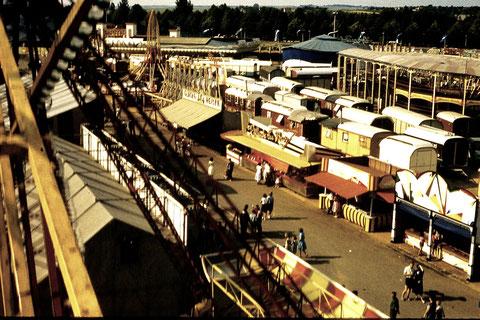 Schweinfurter Volksfest 1960 - Blick vom Riesenrad - Danke an Gerhard Feigl