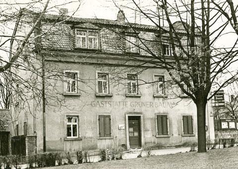 Philosophengang 9 Gaststätte Obertor Inh. Gottfried Hofmann 1985 (später Grüner Baum)