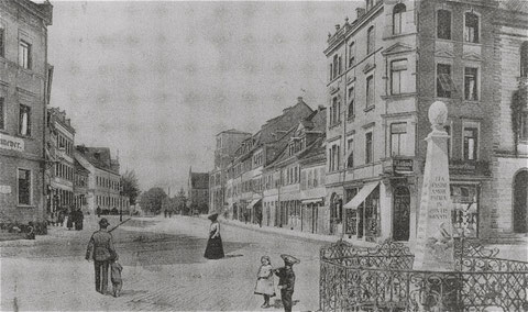 Schultesstraße um 1904