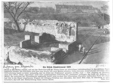Aus Schweinfurter Tagblatt