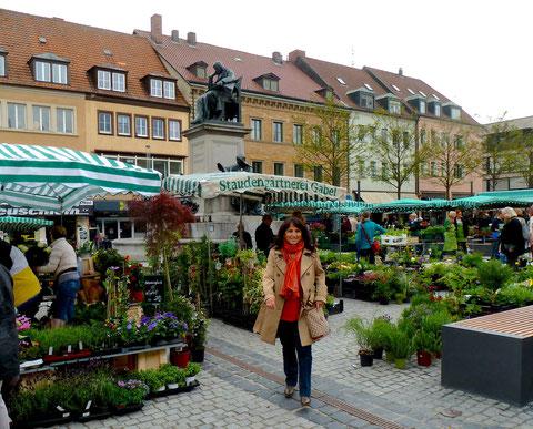 Markt im Mai 2013