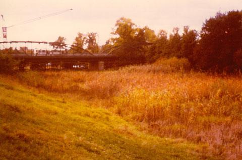 Alte Ludwigsbrücke 1968