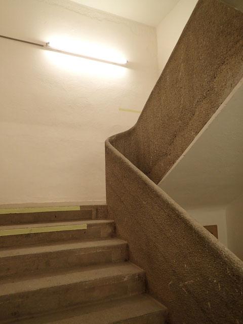 Eines der Treppenhäuser