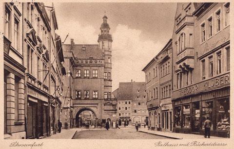 Die Rückertstraße in den 1920ern