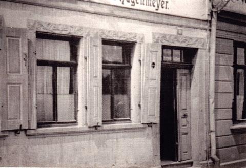 Zu den Brennöfen (auch gensbuckel genannt) hin gab's den Brauerei-Ausschank Hagenmeyer