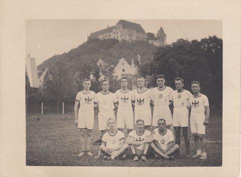 TG-Teilnehmer bei der Bayerischen Meisterschaft in Landshut 1924