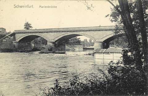 Die Marienbrücke 1914