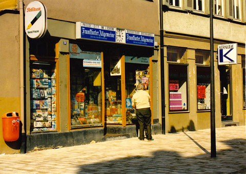 Brueckenstrasse - Laden Joe 1992