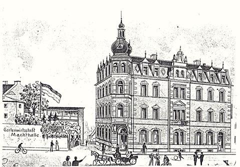 Markthalle um 1900