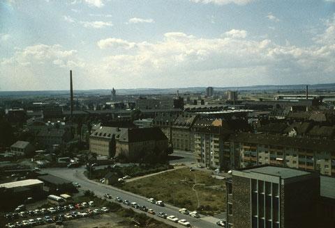 26. August 1962 -  Blick in Richtung Bergl