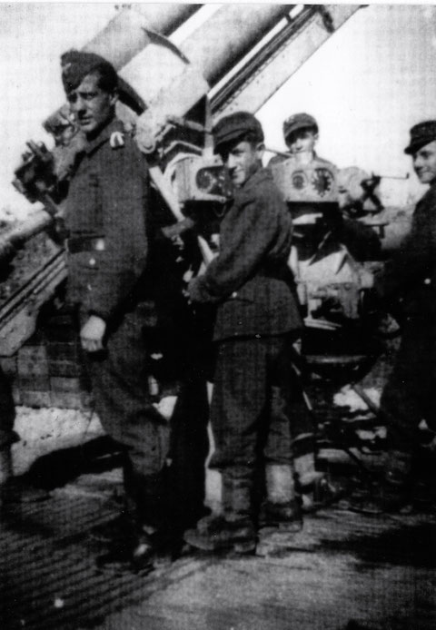 Batterie Flakabtlg. 639 in Hambach - Geschützstaffel