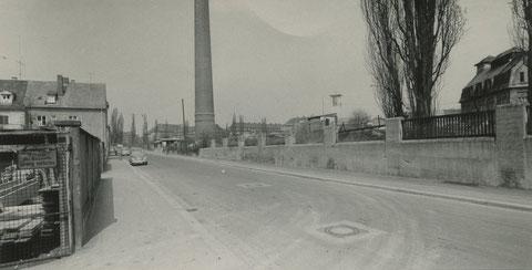 Kornacher Straße April 1962