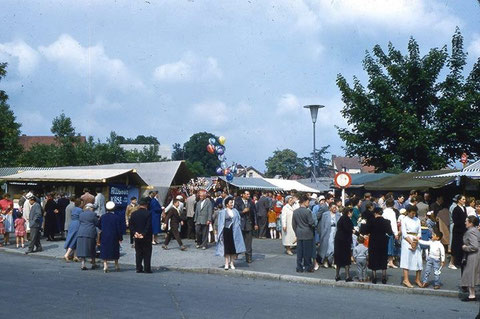 Messeplatz an der Rüfferstraße Mai 1959