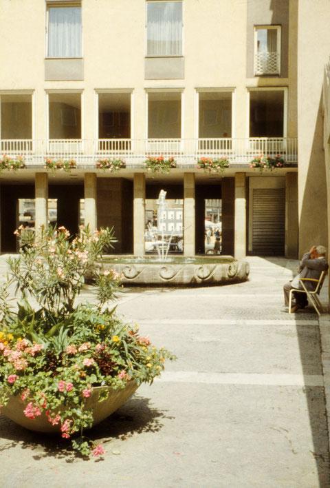 Juni 1966 - Rathausinnenhof