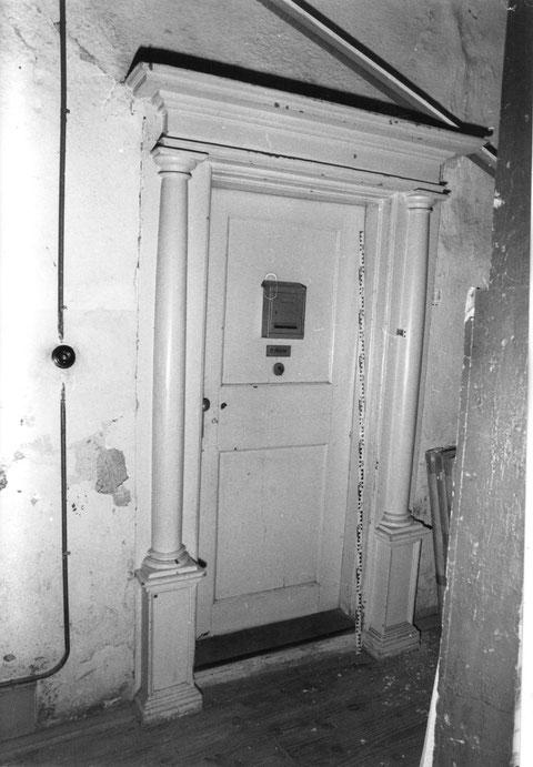 Türportal im Rückgebäude
