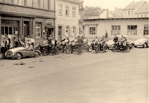 Roßmarkt Anfang der 1950er