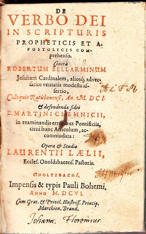 Titelblatt zu Biblische Summarien