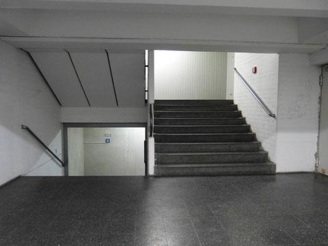 """Treppenhaus des """"Zementrums"""", 4. Stock, 2017"""
