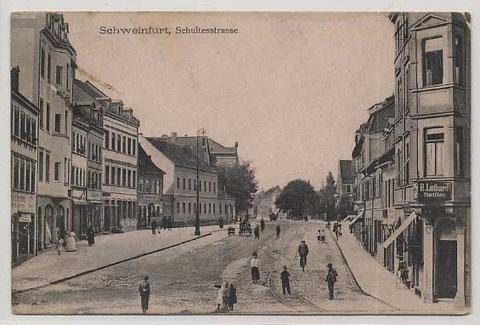 Die Schultesstraße ca. 1902